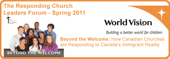 World Vision The Responding Church Leaders Forum - Spring 2011